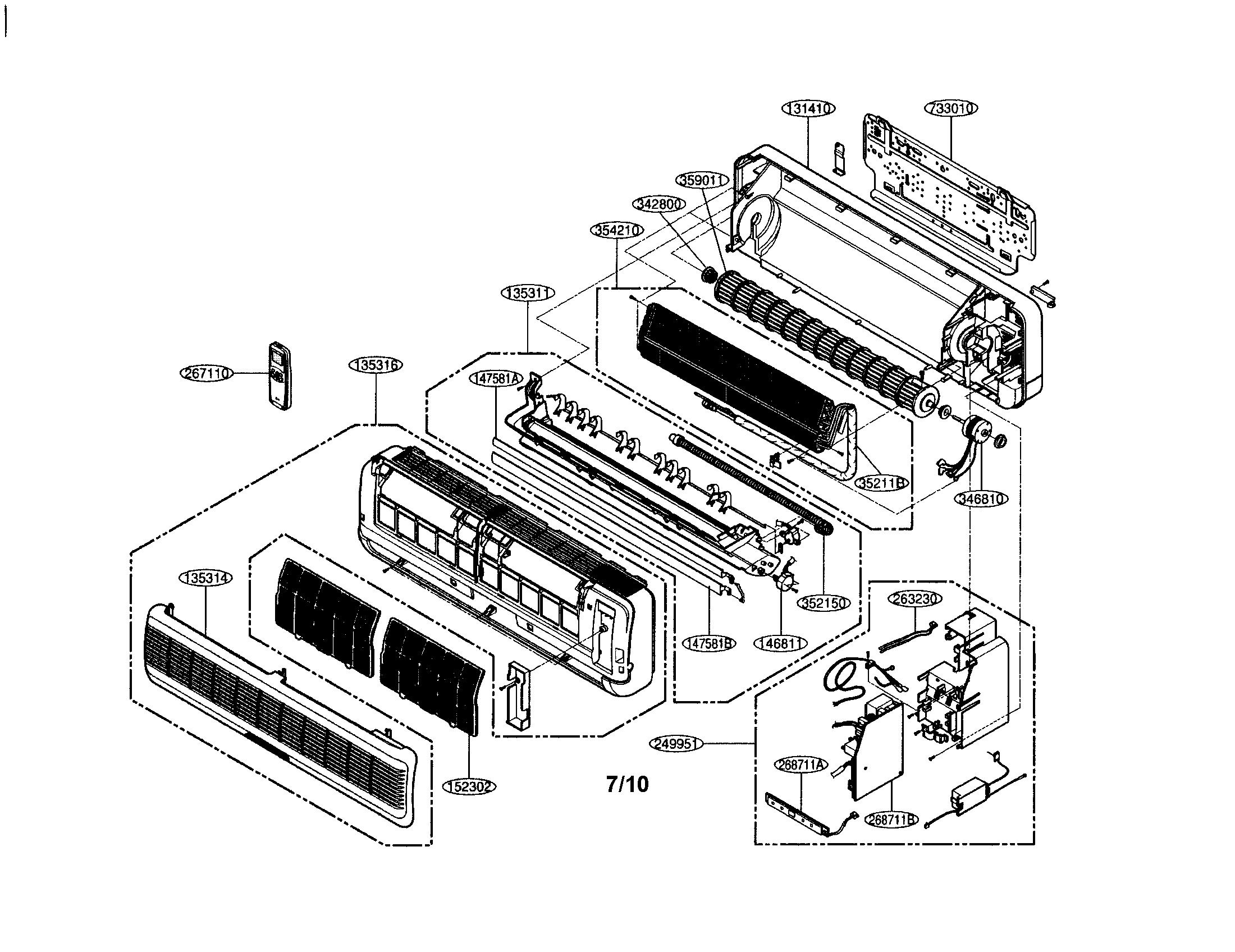 lg split system air conditioner user manual