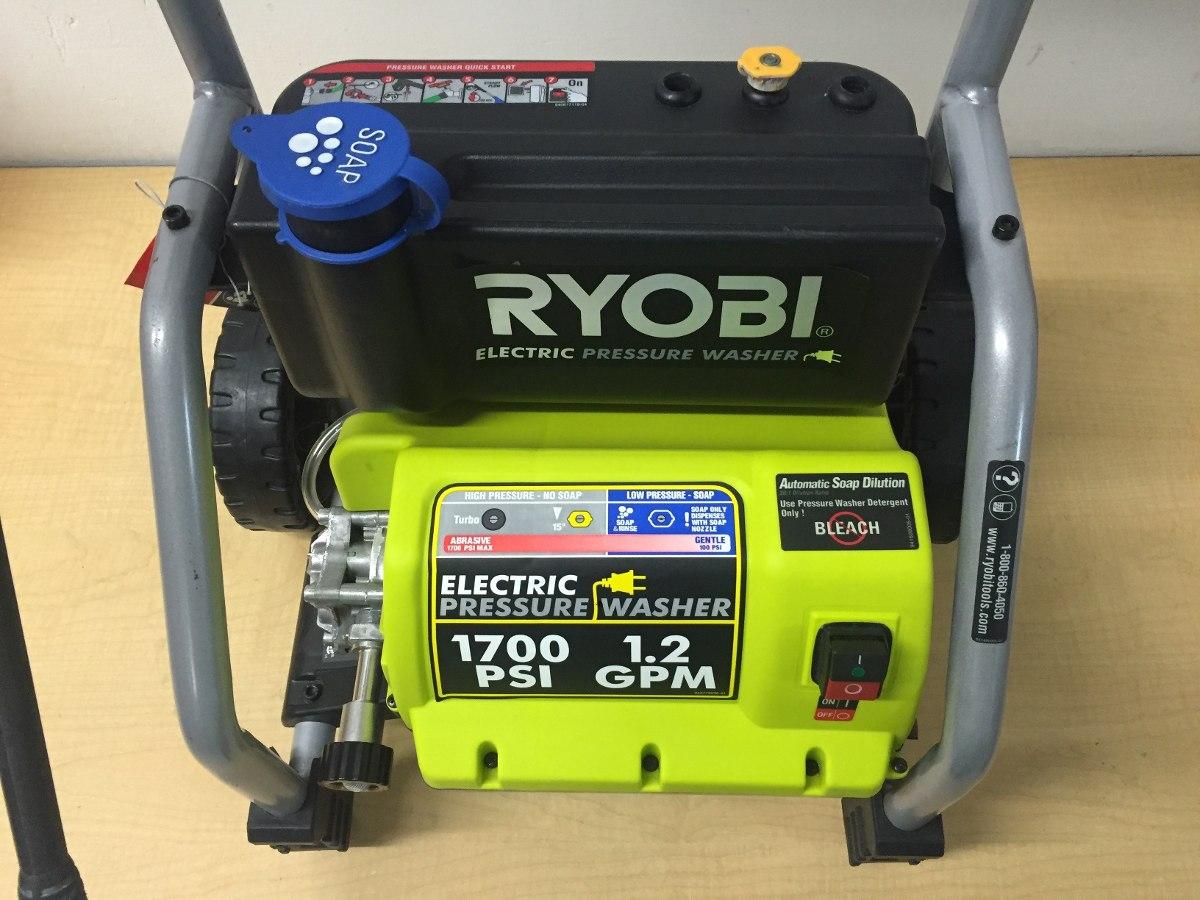 karcher 1600 psi pressure washer manual