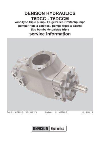 denison hydraulic pump service manual