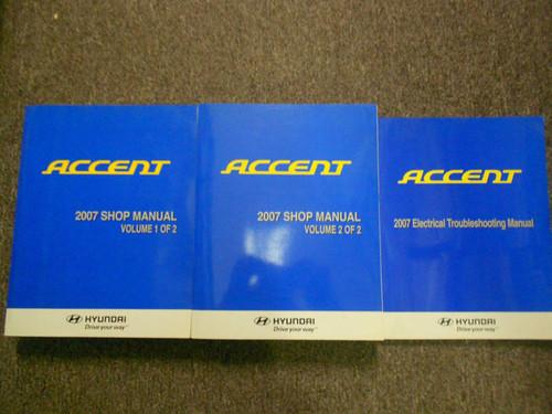 2007 hyundai accent repair manual