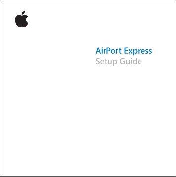 airport express manual 1st generation