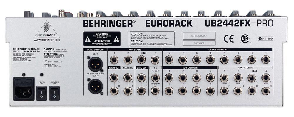 behringer 24 bit multi fx processor manual