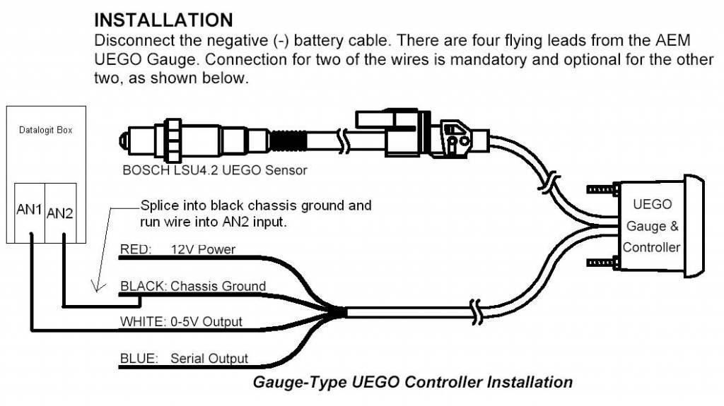 bosch o2 sensor wiring diagram manual