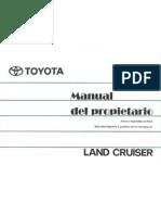 toyota land cruiser 80 series service manual pdf