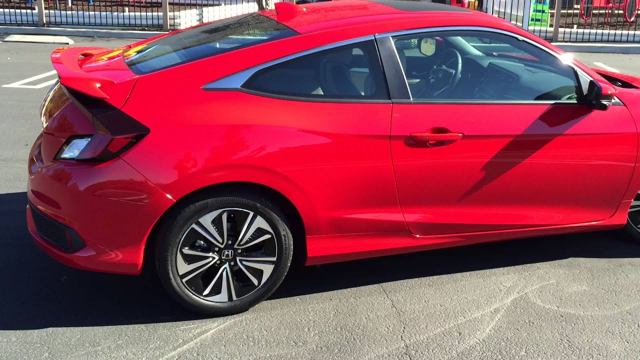 2017 honda civic ex t manual coupe