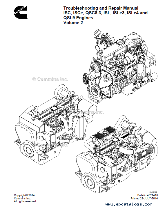 cummins qsc 8.3 service manual pdf