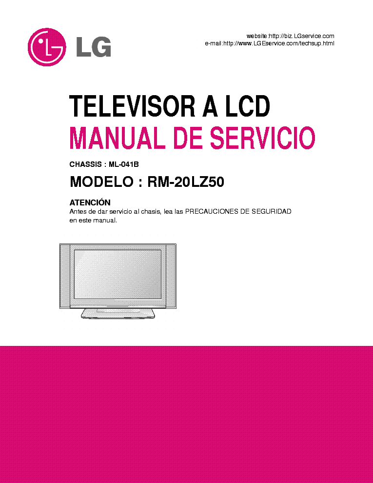 lg plasma tv repair manual