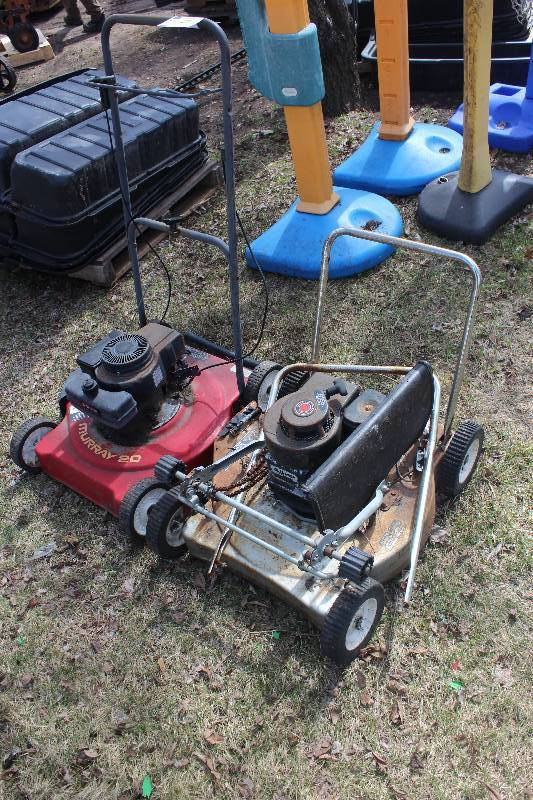 murray 20 gas powered lawn mower manual