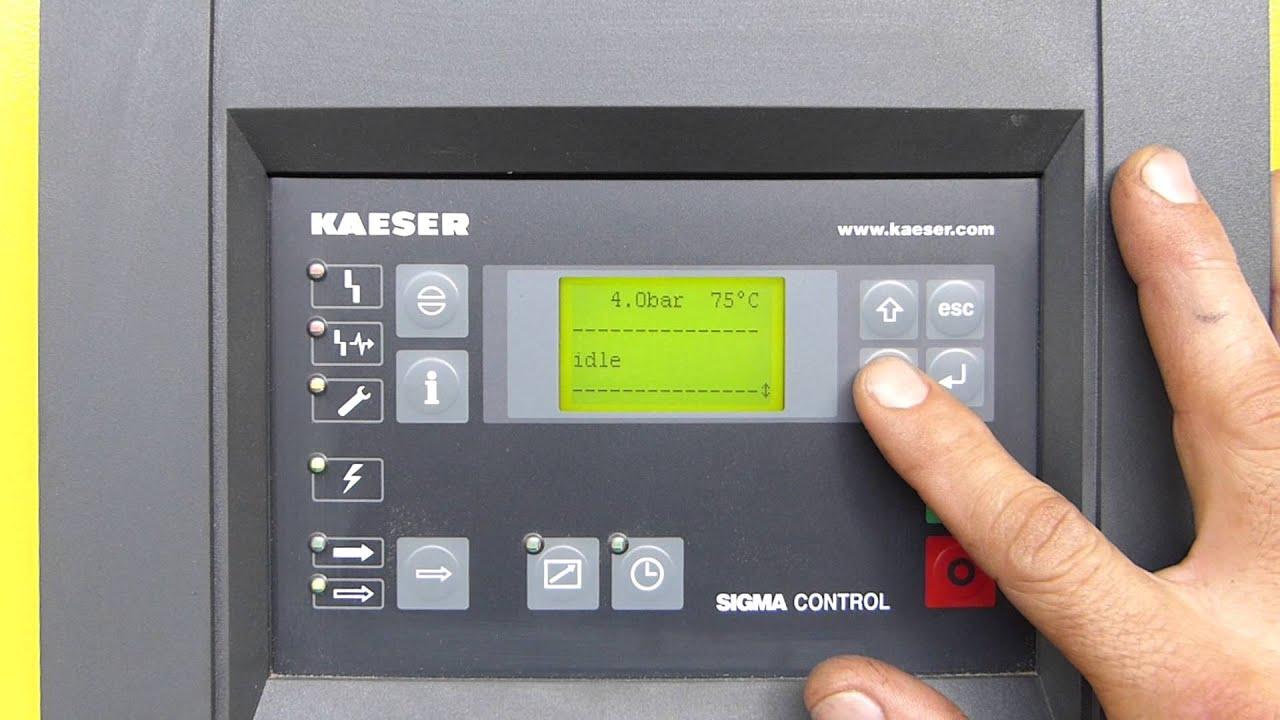 kaeser air compressor service manual