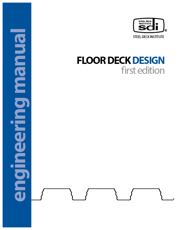 floor deck design manual first edition