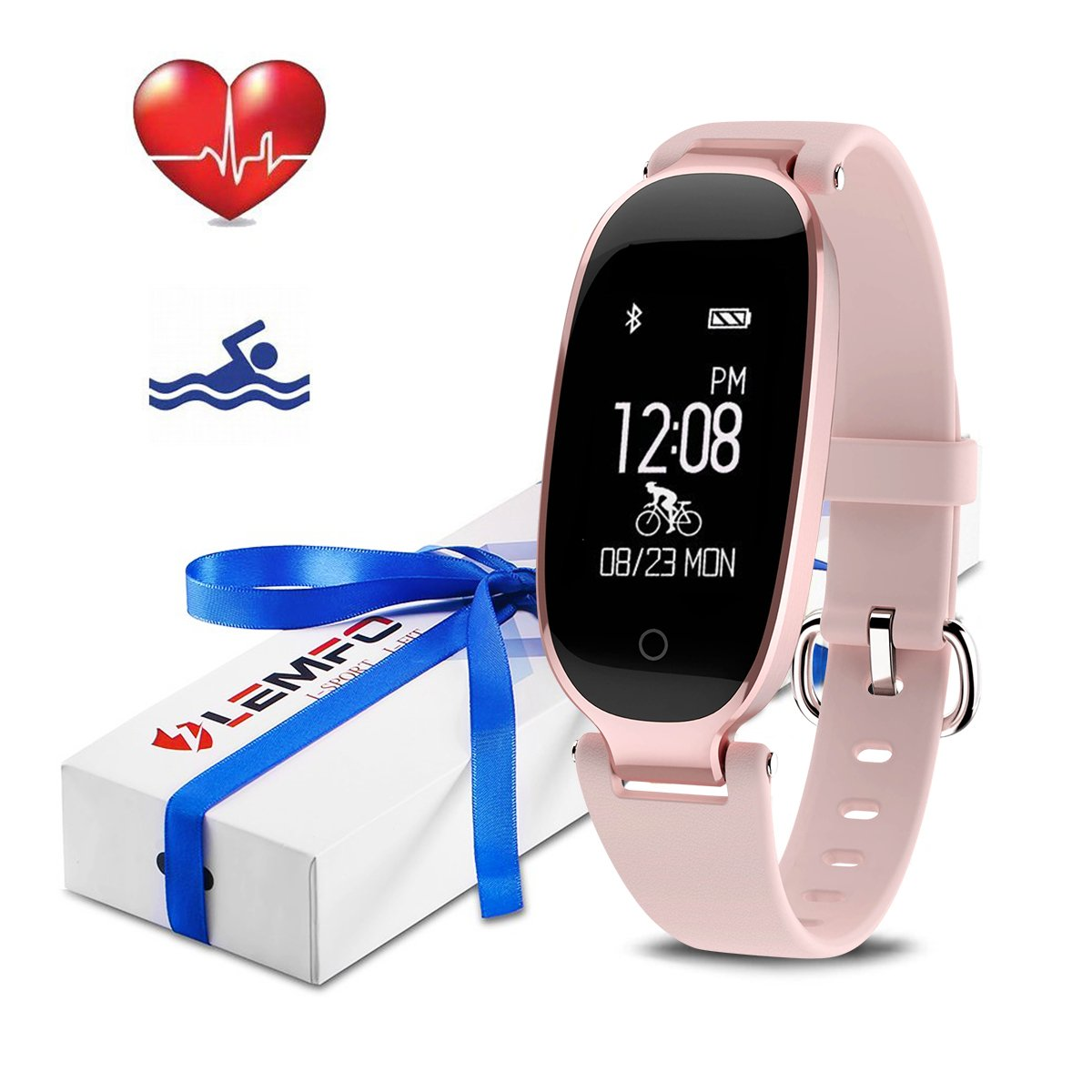heart rate fitness tracker manual