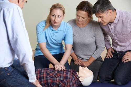 first aid and manual handling training