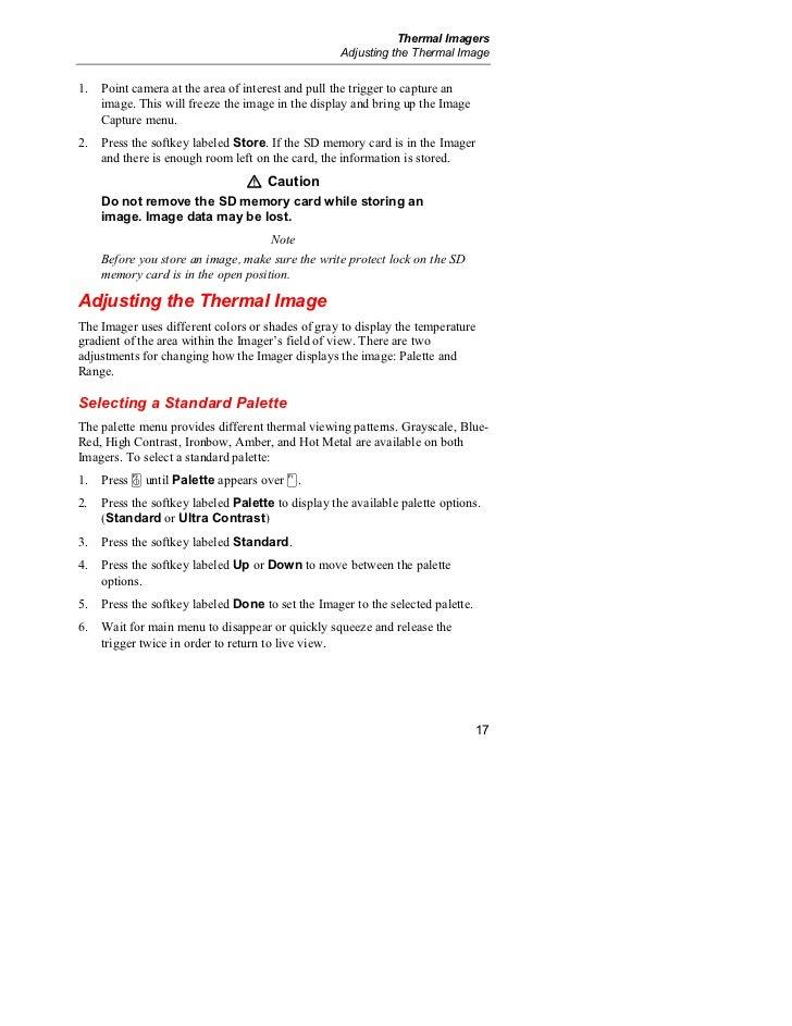 fluke ti32 thermal imager manual