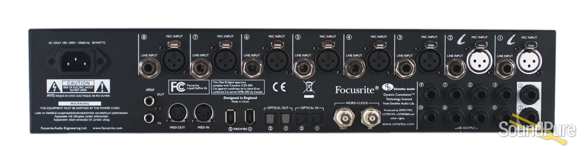 focusrite liquid saffire 56 manual