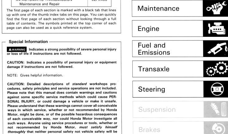 honda cr85 service manual free download