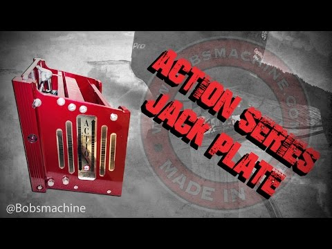 how to adjust manual jack plate