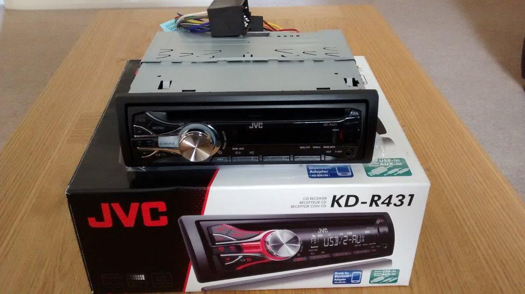 jvc car radio cd player manual