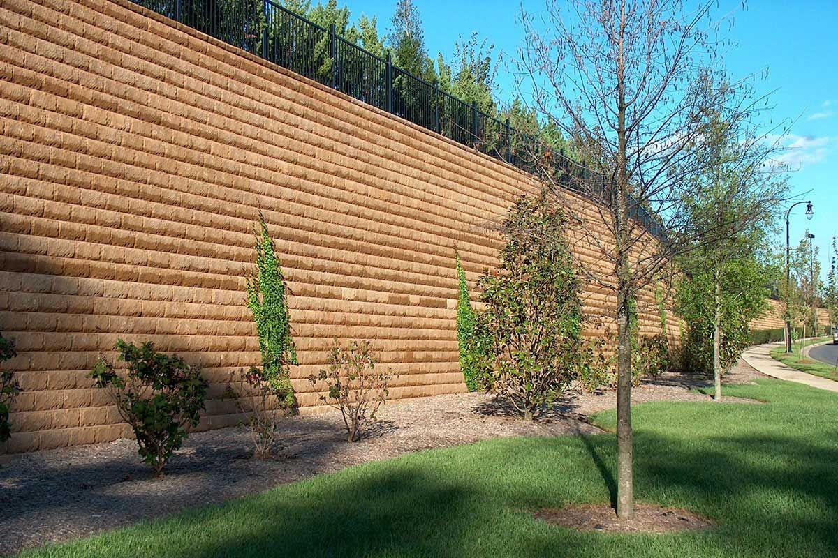 keystone retaining wall design manual