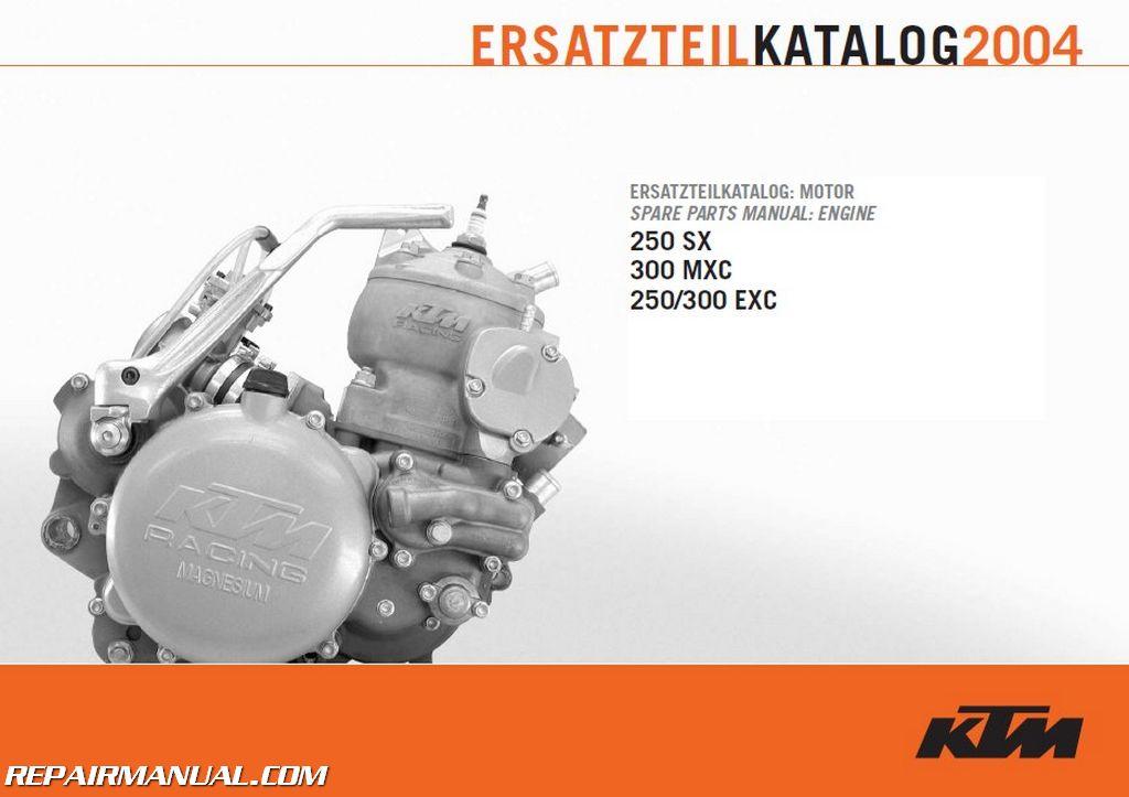 ktm 125 sx service manual