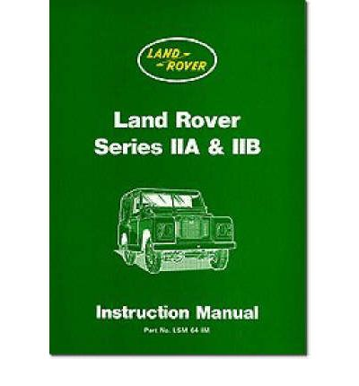 land rover series 2a workshop manual pdf