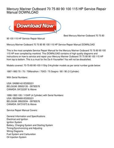mercury 90 elpto service manual download