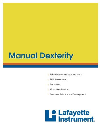 minnesota manual dexterity test instructions