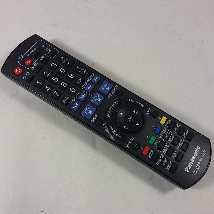 panasonic theater system remote manual