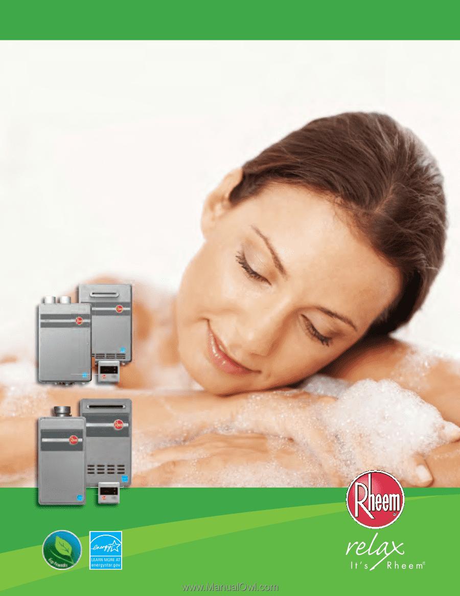 rheem 20 continuous hot water manual