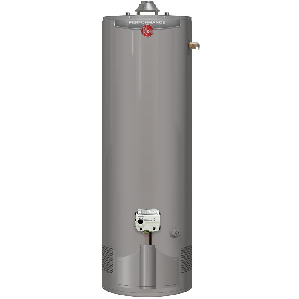 rheem gas hot water heater manual