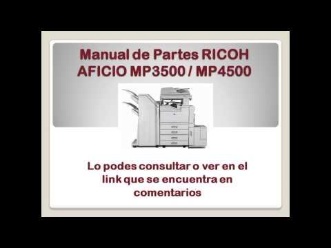 ricoh aficio mp 4000 manual
