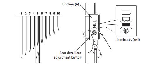 shimano 105 front derailleur manual