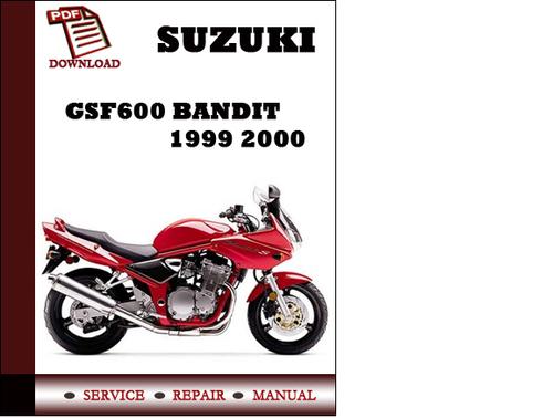 suzuki bandit 600 manual free download