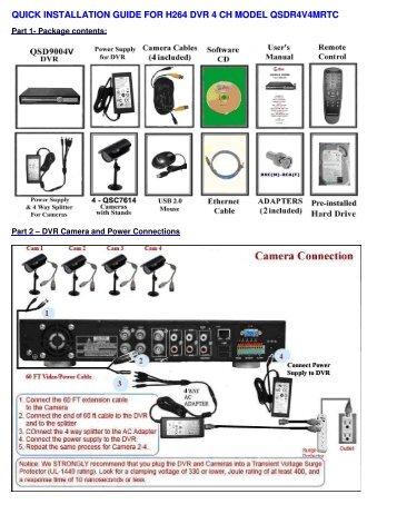 swann 4 channel h 264 dvr manual