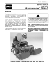 toro lawn master ii instruction manual