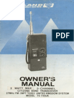 uniden walkie talkie instruction manual