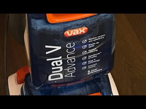 vax dual v advance manual